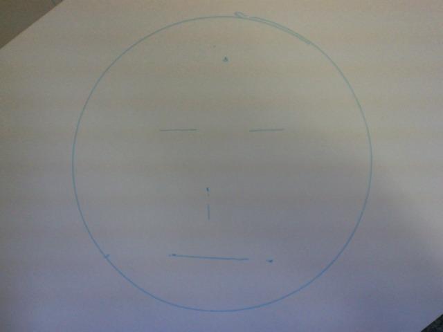 ロボットのが描いた絵