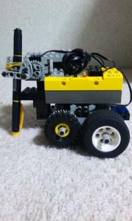 完成したロボット(横)