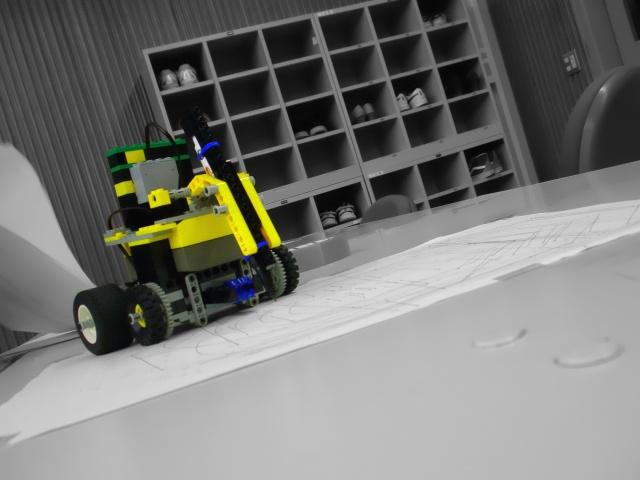 お絵かきロボット