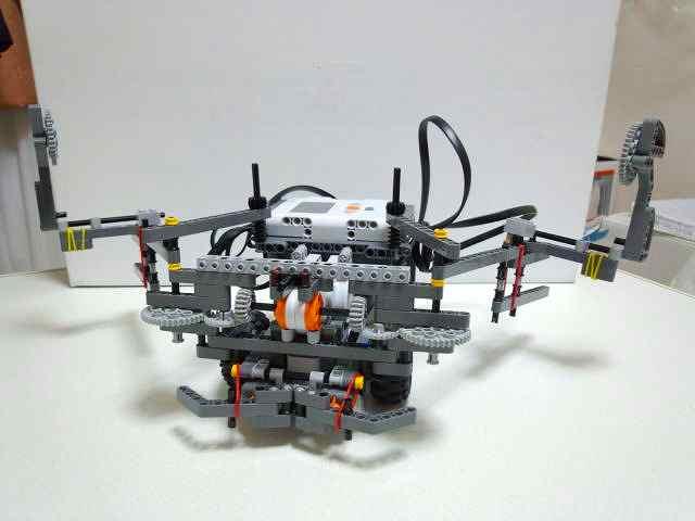 ロボットの全体図