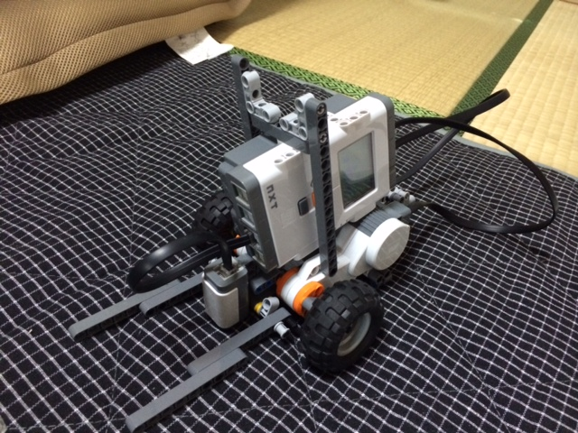 Mission1用ロボット