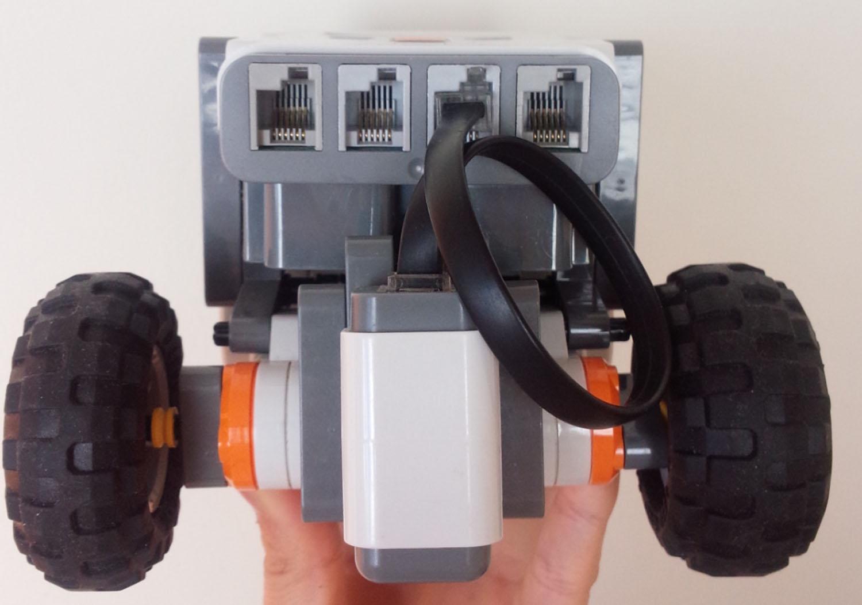 ロボット前頭部