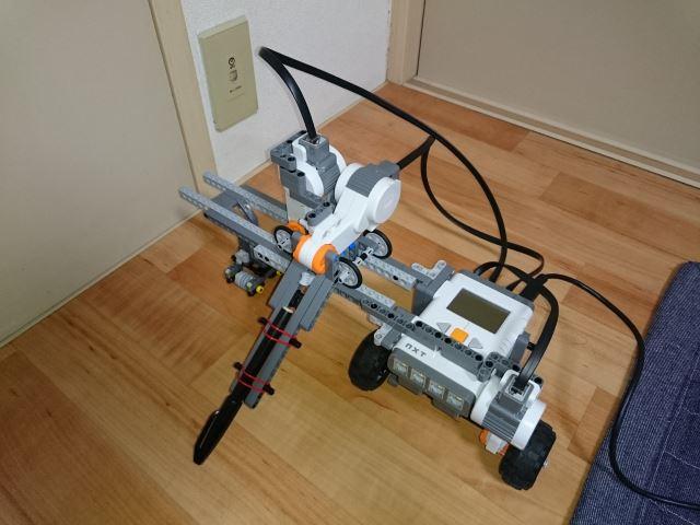 完成したロボット