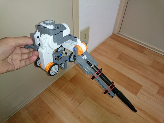 X軸制御/ペン昇降ロボット