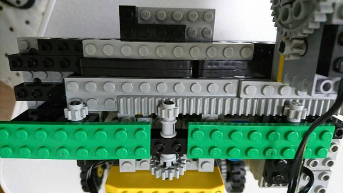 ロボットのレール1