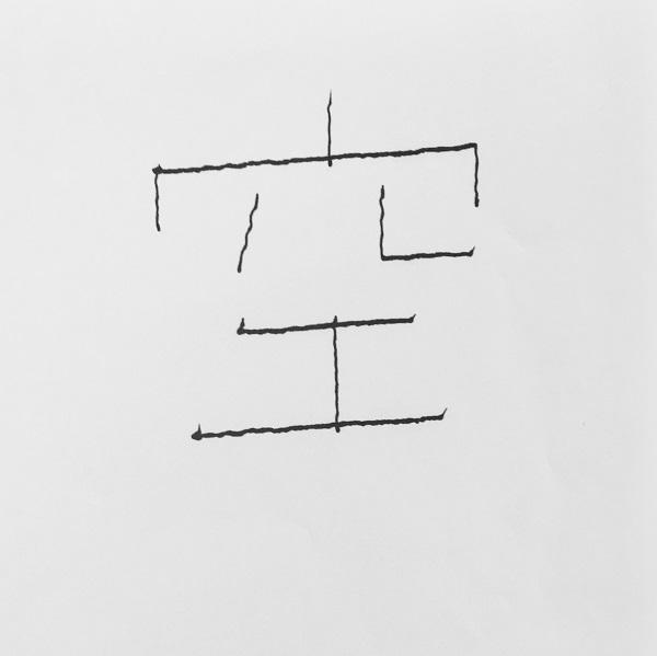 完成した漢字