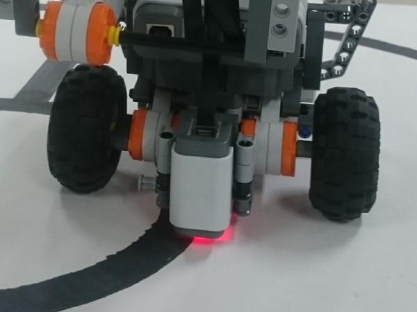 ロボの光センサー