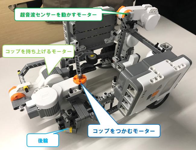 ロボットの詳細1