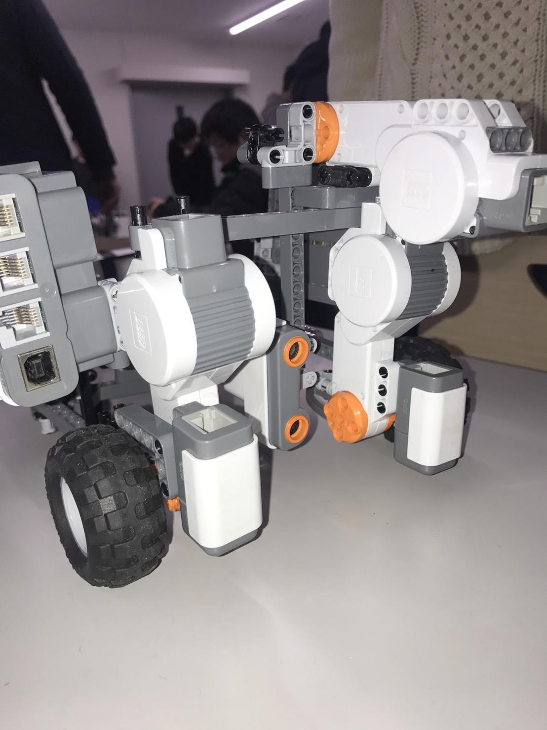 ロボットの動き