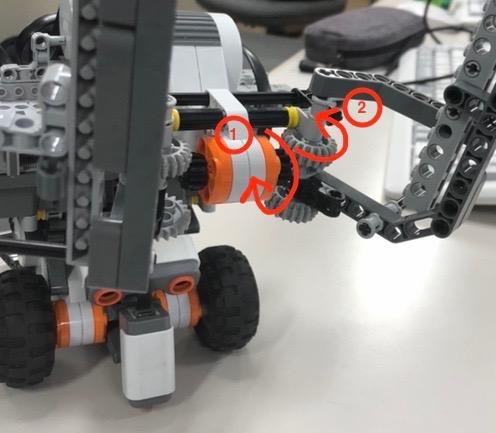 ロボットのアーム部分